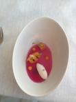 Cliff Hpotel yoghurt sorbet